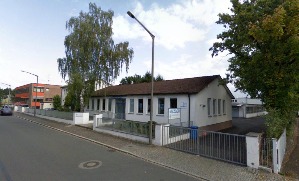 Sídlo firmy MEZGER v Norimberku